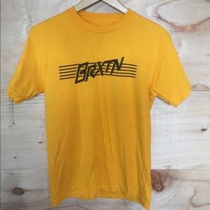 Yellow Brixton Tee